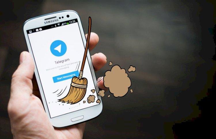 តោះមកដឹងវិធីសម្អាត Cache នៅក្នុងកម្មវិធី Telegram ដើម្បីឲ្យសល់មេមូរីទូរស័ព្ទច្រើន