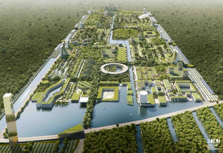 «Smart Forest City» គម្រោងអភិវឌ្ឍន៍ទីក្រុងសេដ្ឋកិច្ចវិលជុំដំបូងគេ នៅប្រទេសម៉ិចស៊ិក