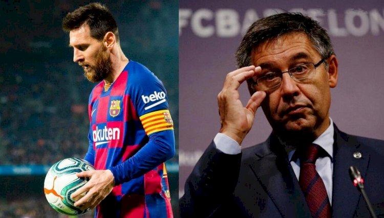 Lionel Messi ចង់ចូលនិវត្តន៍នៅ Barcelona