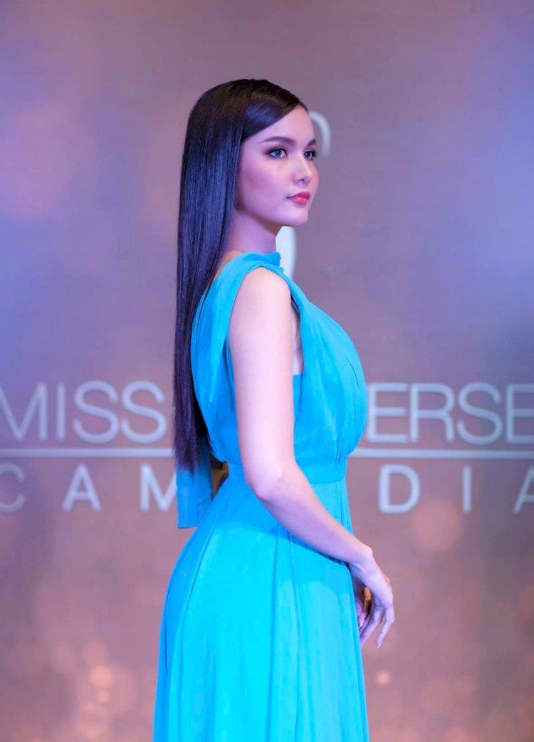 [មានវីដេអូខាងក្រោម] កញ្ញា រឿន ណាត ស្លៀកឈុតនេះក្នុងកម្មវិធី Miss Universe Cambodia ២០២០ យប់មិញស្អាតប្លែក